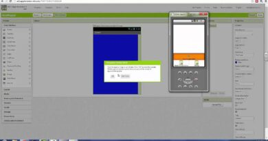 Connecting to App Inventor Emulator and Updating Companion