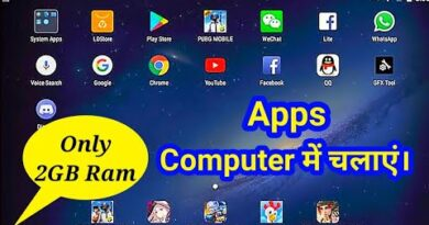 |How to install and Run Android Apps on Computer|laptop pc mai android app kaise chalaye|