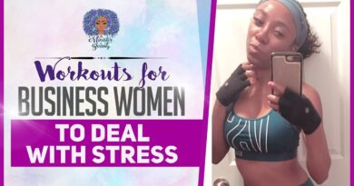 Workouts For Business Women To Deal With Stress | Workout Tips for Female Entrepreneurs